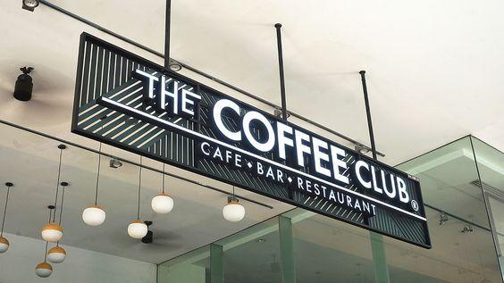 biển quảng cáo cafe hiện đại đẹp