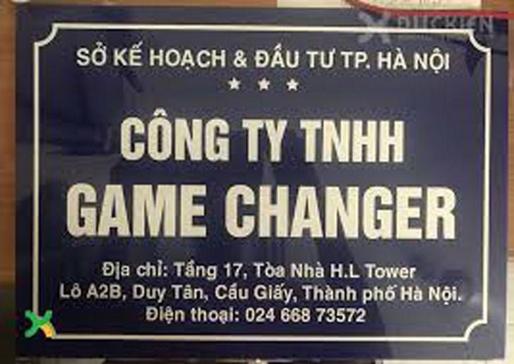 làm biển công ty mica lấy ngay tại Hà Nội