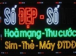 Làm biển quảng cáo Led giá rẻ tại Hà Nội