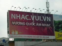 Biển quảng cáo trivision động