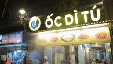 Làm biển quảng cáo quán Ốc tại Hà Nội