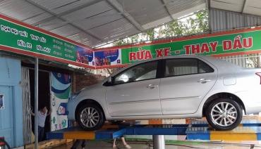 Làm biển quảng cáo rửa xe ô tô tại Hà Nội
