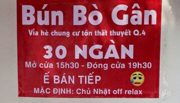 Các biển quảng cáo hài hước nhất Việt Nam Phần 2