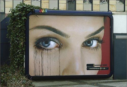 biển quảng cáo mỹ phẩm