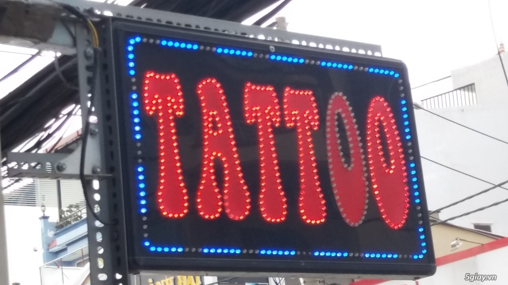 biển led vẫy tattoo
