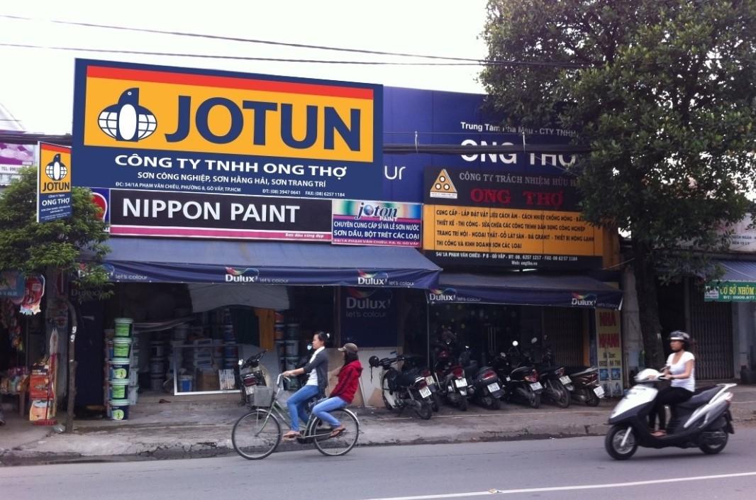 biển quảng cáo sơn Jotun